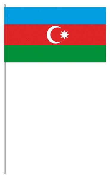 Papierfähnchen Aserbaidschan
