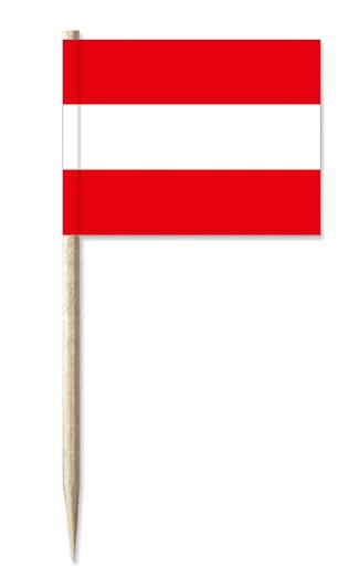 Minifahne Österreich