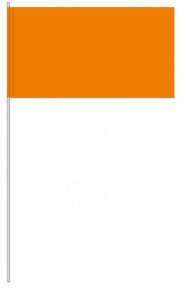 Papierfahnen orange