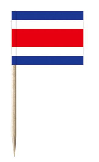 Minifahnen Dekopicker / Käsepicker Costa Rica