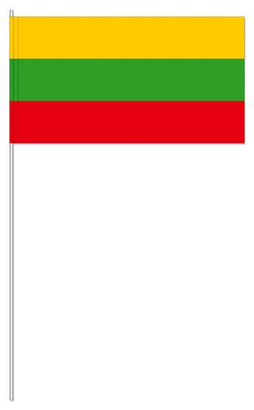 Papierfähnchen Litauen