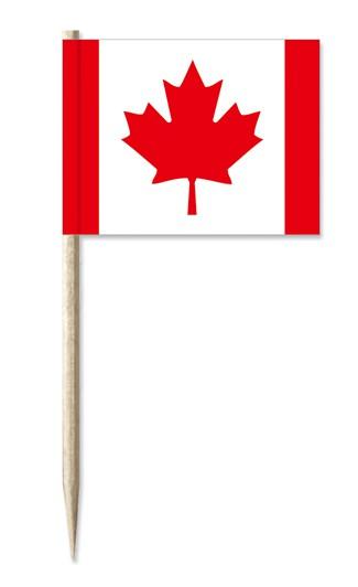 Minifahne Kanada