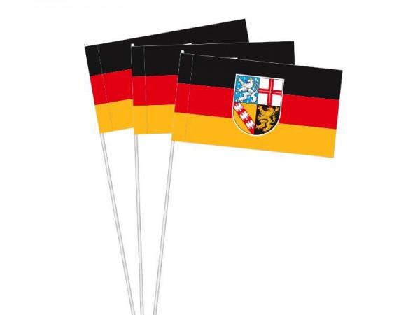 Papierfahnen Saarland