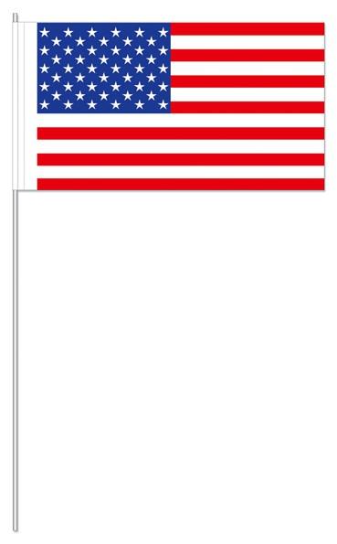 Papierfähnchen USA