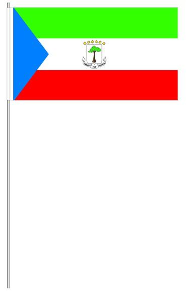 Papierfähnchen Äquatorialguinea
