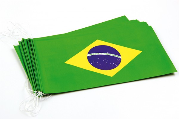 Fahnenketten Brasilien
