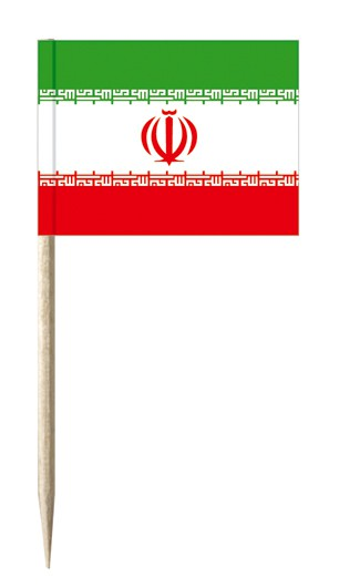 Minifahnen Dekopicker / Käsepicker Iran