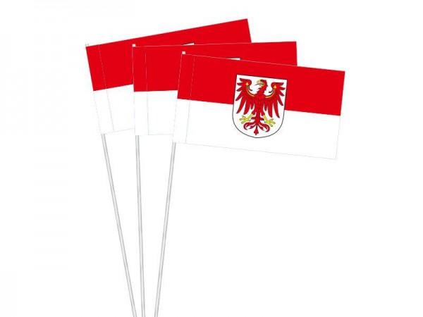 Papierfahnen Brandenburg