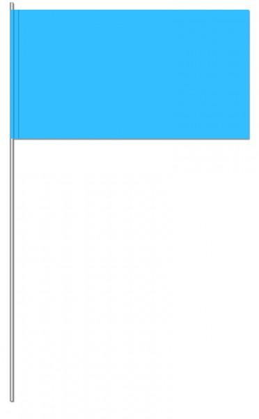 Papierfahnen blau