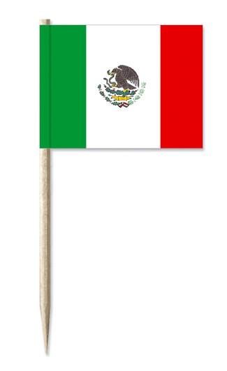 Minifahne Mexiko