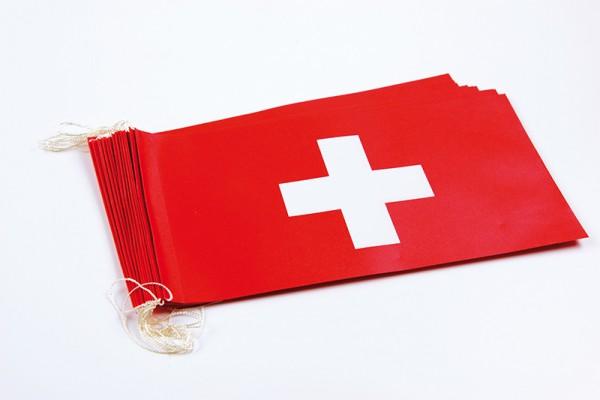 Fahnenketten Schweiz