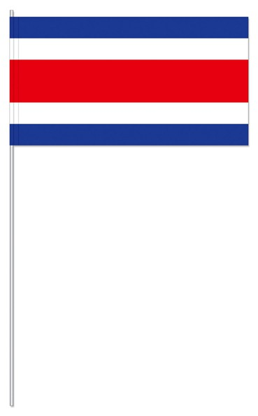 Papierfähnchen Costa Rica