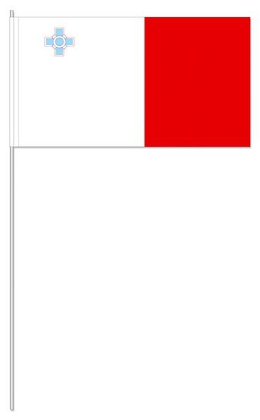 Papierfähnchen Malta