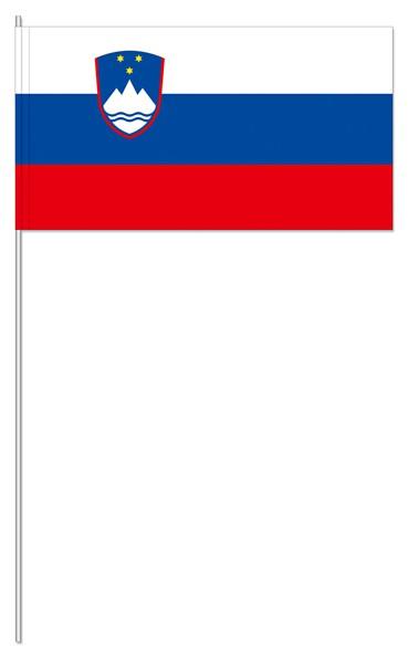Papierfähnchen Slowenien