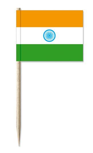 Minifahne Indien