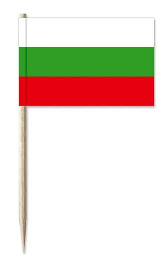 Minifahne Bulgarien