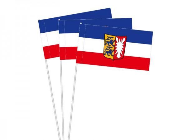 Papierfahnen Schleswig-Holstein