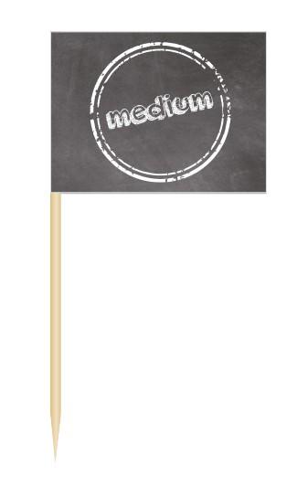 Minifahnen Dekopicker / BBQ Flags medium