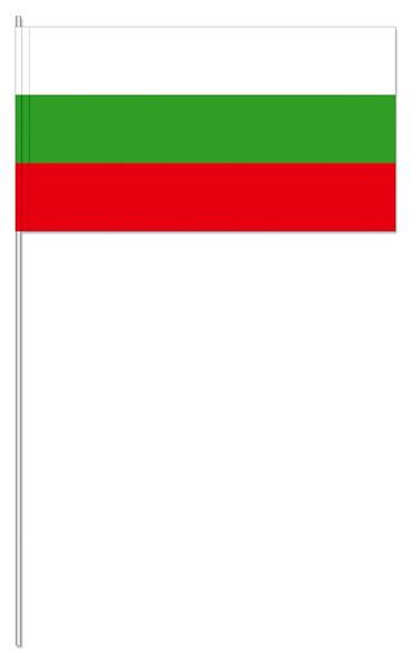 Papierfähnchen Bulgarien