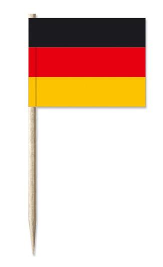 Minifahnen Dekopicker / Käsepicker Deutschland