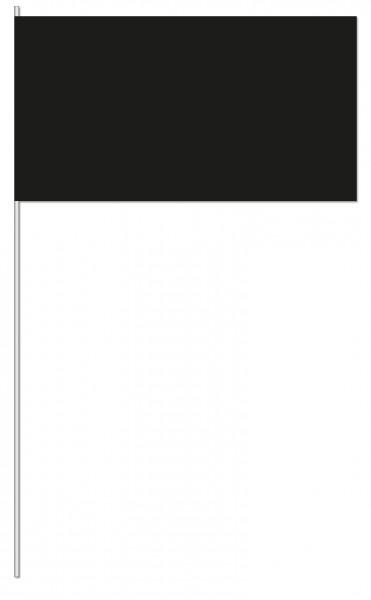 Papierfahnen schwarz