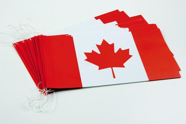 Fahnenketten Kanada