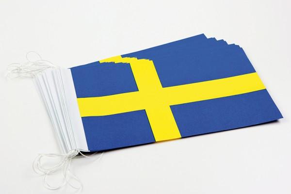 Fahnenketten Schweden