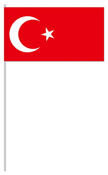 Papierfahnen Türkei