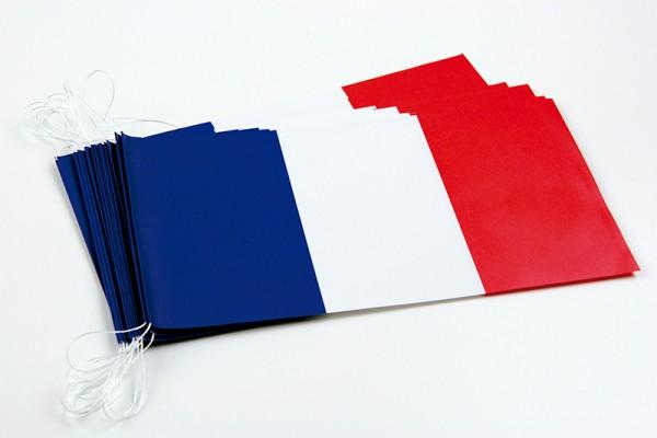 Fahnenketten Frankreich