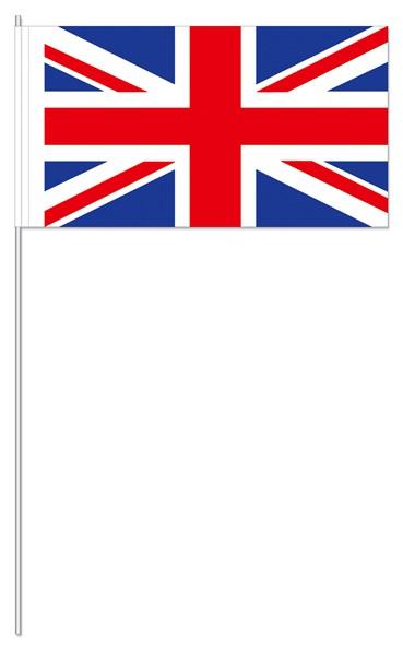 Papierfähnchen Großbritannien