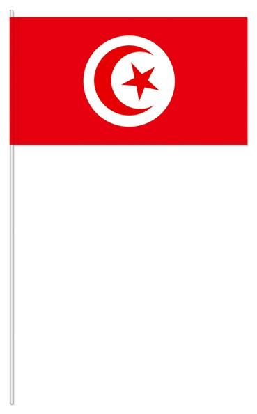 Papierfähnchen Tunesien
