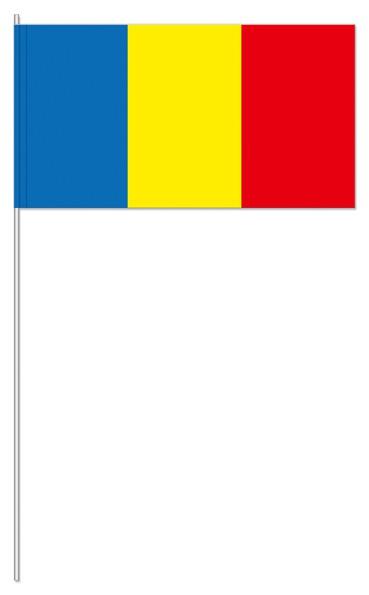 Papierfähnchen Rumänien