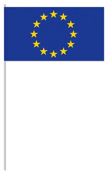 Papierfähnchen Europa