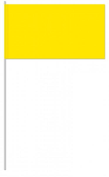 Papierfahnen gelb
