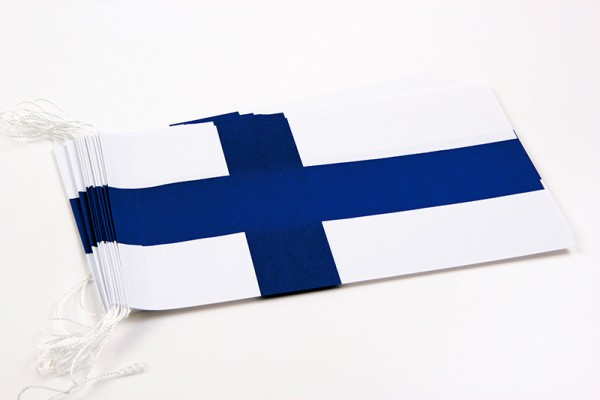 Fahnenketten Finnland