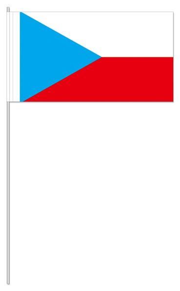 Papierfähnchen Tschechien