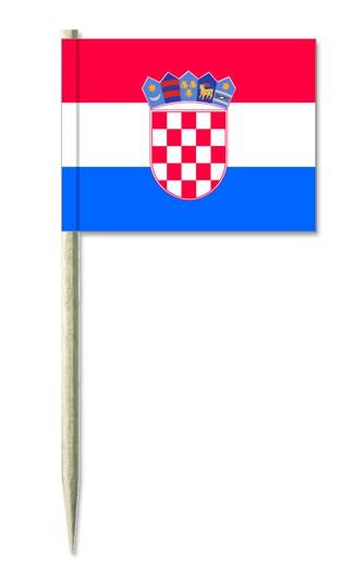 Minifahne Kroatien
