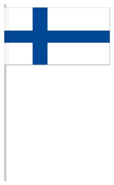 Papierfähnchen Finnland