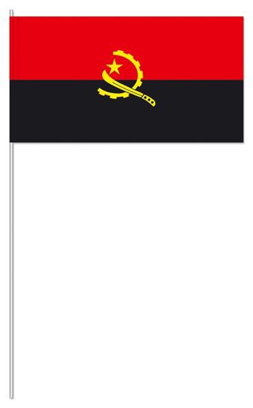 Papierfähnchen Angola