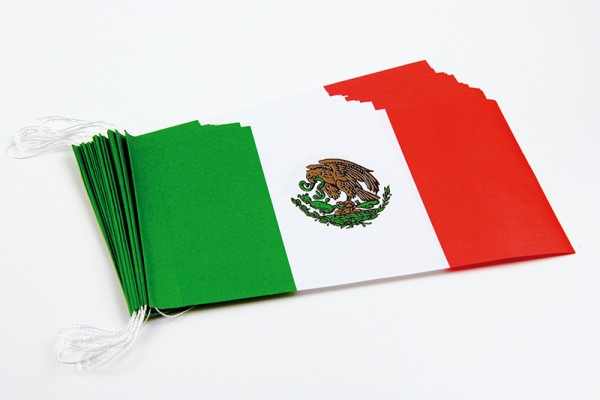 Fahnenketten Mexiko