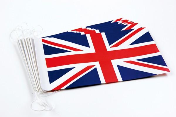 Fahnenketten Großbritannien