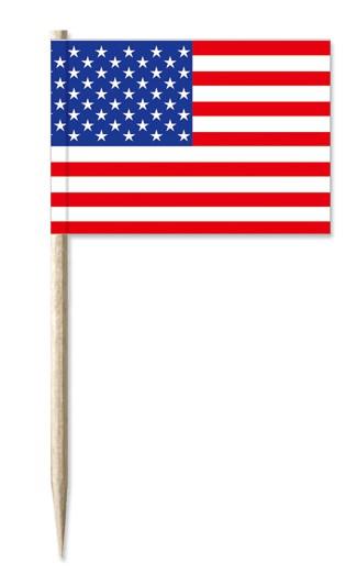 Minifahne USA