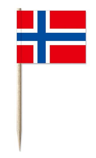 Minifahne Norwegen