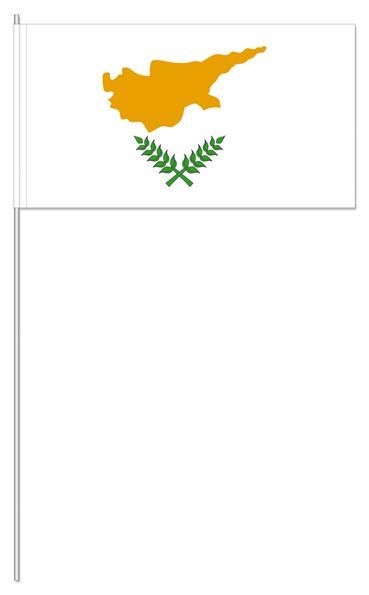 Papierfähnchen Zypern