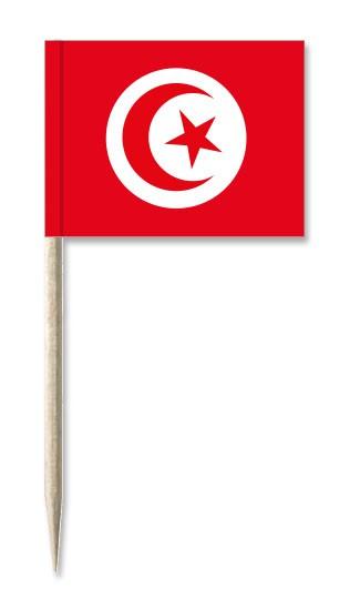 Minifahnen Dekopicker / Käsepicker Tunesien