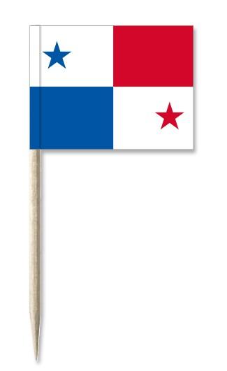 Minifahnen Dekopicker / Käsepicker Panama