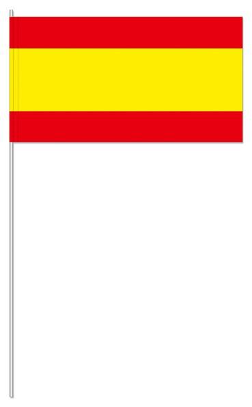 Papierfähnchen Spanien