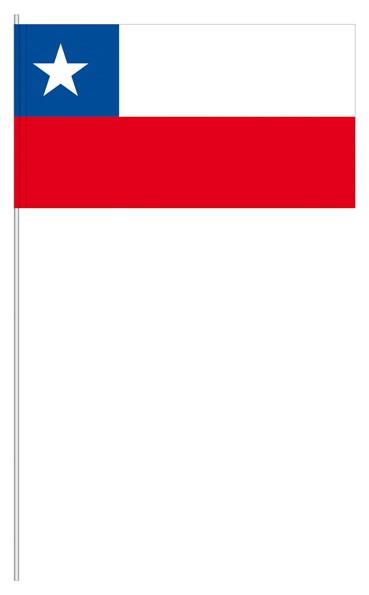 Papierfähnchen Chile