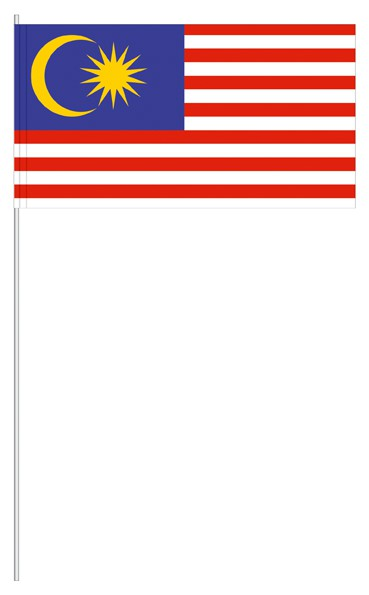 Papierfähnchen Malaysia