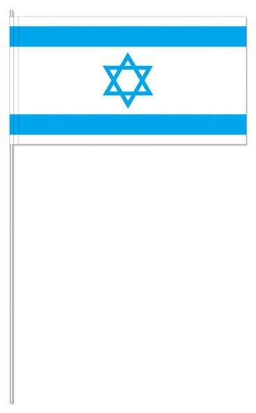 Papierfähnchen Israel